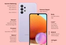 Samsung Galaxy A32 Hadir untuk Tingkatkan Pengalaman Menonton dengan Tampilan Halus dan Jernih