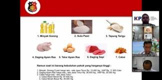 Kanwil IV KPPU dan Satgas Pangan Polda Jatim Siap Jaga Stabilisasi Harga Pangan Jelang Ramadhan