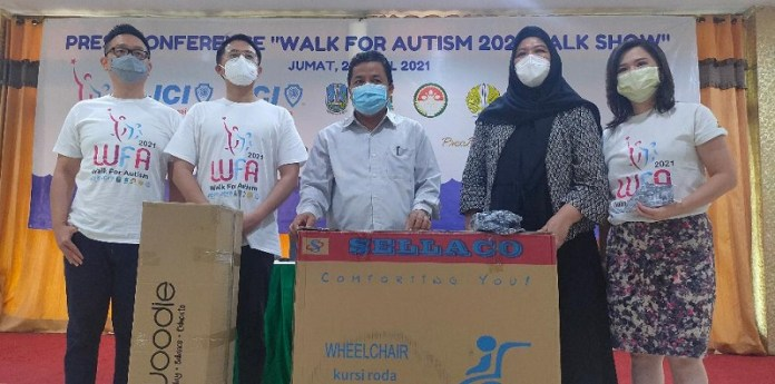 JCI Kembali Gelar Walk For Autism (WFA) 2021