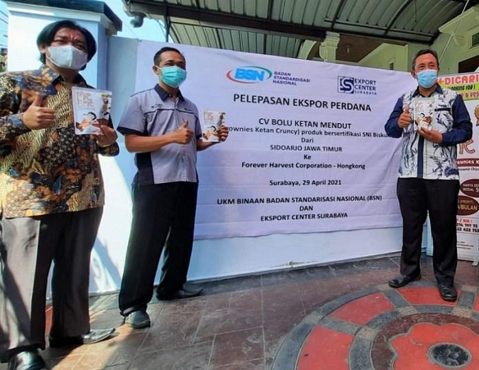 Bolu Ketan Mendut Binaan BSN Sukses Tembus Pasar Ekspor
