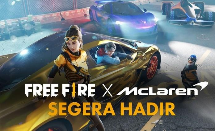 Garena Free Fire Kolaborasi dengan McLaren Racing