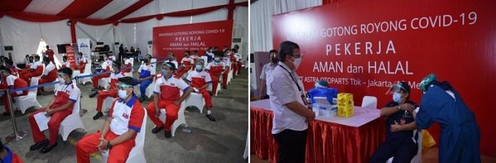 Grup Astra dan Kimia Farma Dukung Vaksinasi Gotong Royong