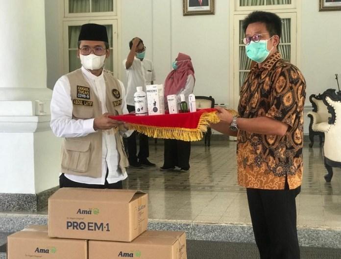 240 botol Proem1 Didonasikan ke Bangkalan