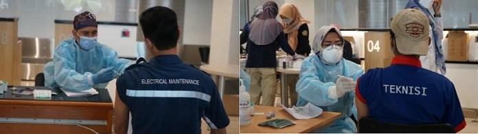 2.432 Petugas dan Komunitas Bandara Juanda Jalani Vaksinasi Covid-19 Dosis Kedua