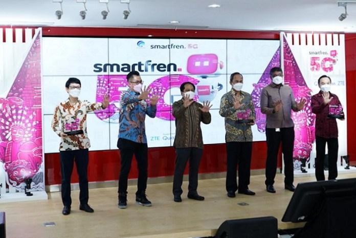 Kominfo Bareng Smartfren Gelar Uji Coba Teknologi 5G Tahap Kedua