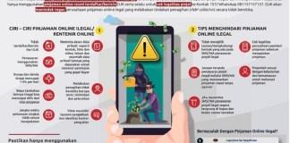 OJK Minta Masyarakat Waspadai Pinjaman Online Ilegal