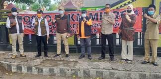 Pemprov Jatim Bersama TNI-POLRI Bantu Posko Pengetatan PPKM Mikro di 8 Desa Prioritas di Kabupaten Bangkalan