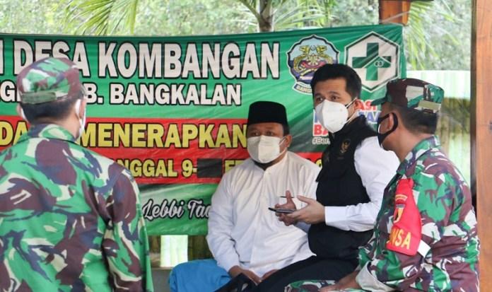 Wagub Emil Optimis PPKM Mikro Mampu Kurangi Penyebaran Covid-19 di Bangkalan