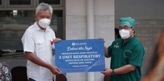 Bank Indonesia, BMPD dan IPEBI Jatim Sumbang Alat Terapi Oksigen pada RSUD DR. Soetomo