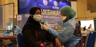 UNAIR Kembali Gelar Vaksinasi untuk Wujudkan Herd Immunity