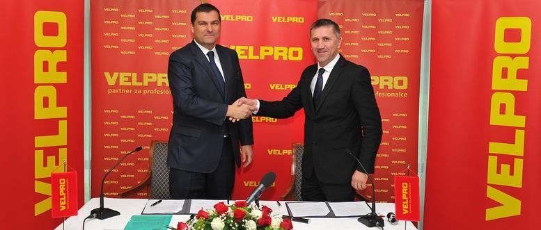 Drazen Kocijan i Sime Klaric_potpisivanje Ugovora