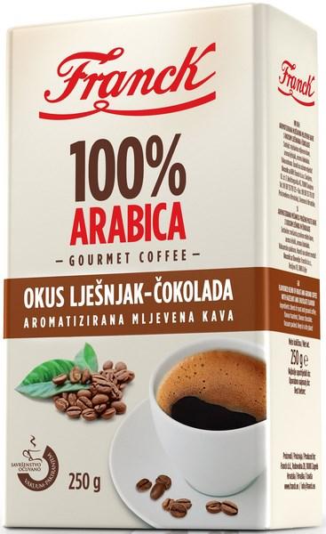 Franck predstavio aromatiziranu mljevenu kavu
