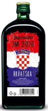 Jagermeister boca s hrvatskom zastavom