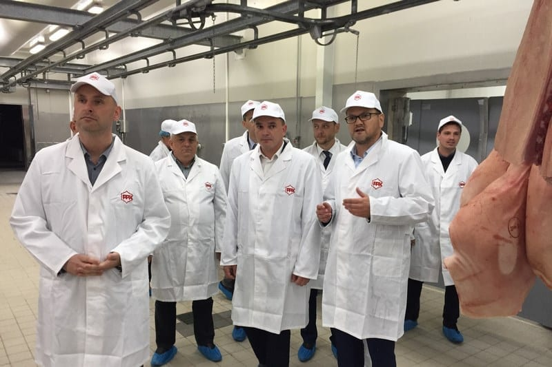 Ministar Tolušić obišao novi pogon PPK karlovačke mesne industrije
