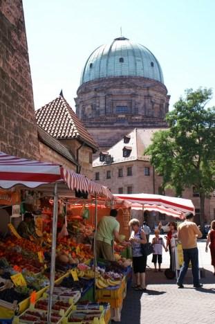 Nuernberg trznica u centru grada