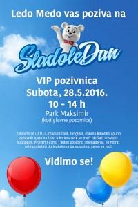 SladoleDan VIP pozivnica