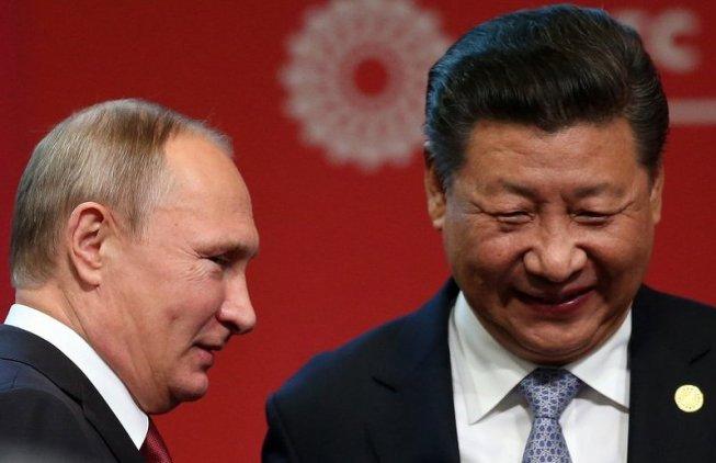 Xi Jinping i Putin