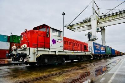 Prvi puni blok-vlak grupe Gefco na novom Putu svile