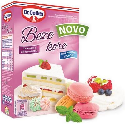 Dr.Oetker Beze kore - nova linija proizvoda