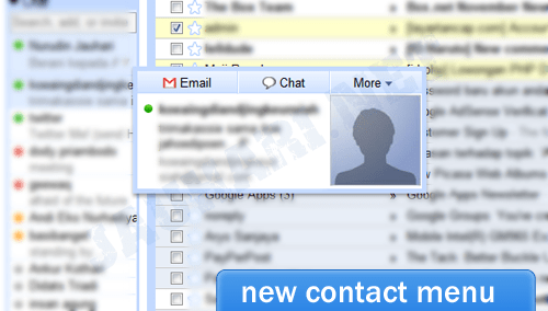 New Contact Interface
