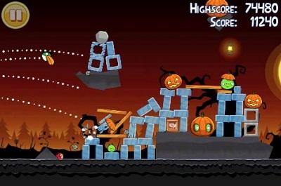 iPhone - Angry Birds Halloween SE