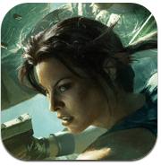 Lara Croft Game App iOS icon
