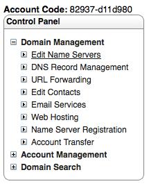 Setup Custom Name Server on name.com