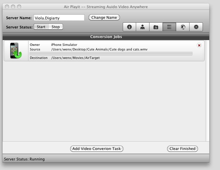 Air Playit Server Mac