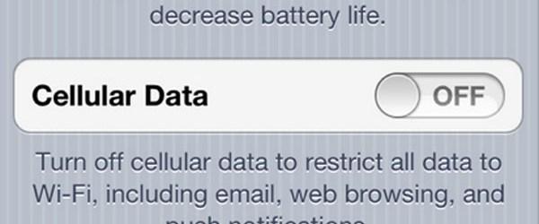 cellular data network