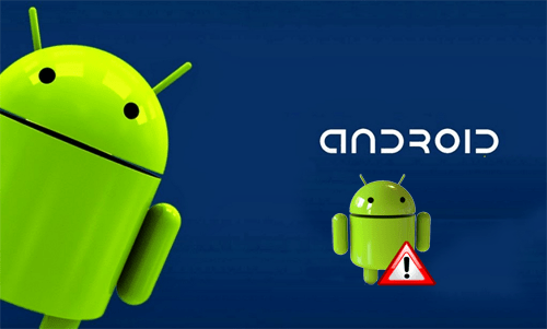 android error message