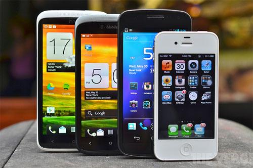 modern smartphones