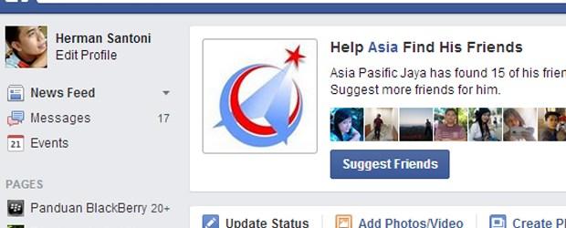 Facebook, News Feed, Fitur Facebook