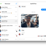 Aplikasi Facebook Messenger for Mac