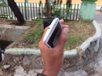 Sisi Atas Motorola Moto G 2015 Putih