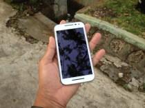 Sisi Depan Motorola Moto G 2015 Putih