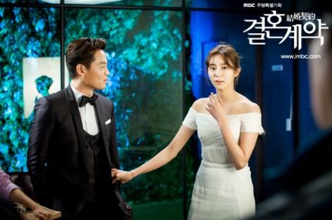 Adegan dalam K-Drama Marriage Contract