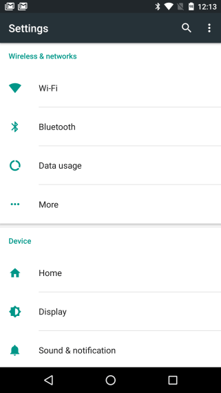 Android N Setup and Setting