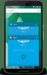 Aplikasi App Cloner di Android Skype
