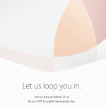 Apple Event March 21 2016