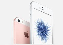 Apple iPhone SE Silver and Rose Gold