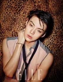 Foto Ahn Jae Hyun di ELLE