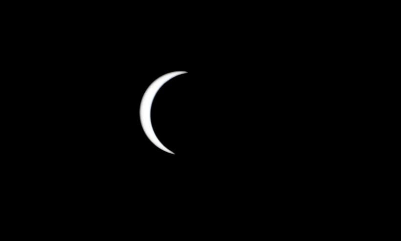 Foto Spesial Matahari Sabit