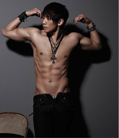 Jung Ji-hoon (Rain) New Six Packs Photos