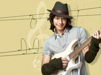 Jung Ji-hoon (Rain) Photos with Guitar
