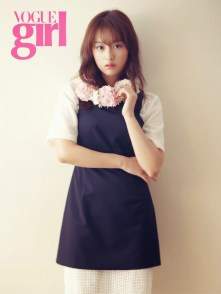 Kim Ji-won di makalah VOGUE Girl
