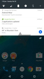 Notification Android N simple