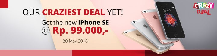 Promo Spesial iPhone SE JD.id