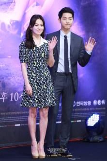 Song Joong-ki dan Song Hye-kyo Promo Descendant of The Sun