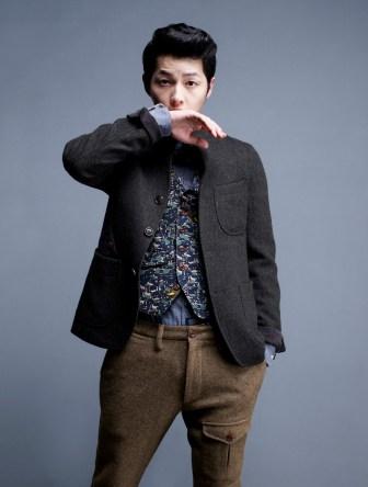 Wajah Tampan Song Joong-ki