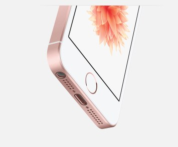 iPhone SE Rose Gold